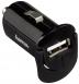 HAMA Автомобільне ЗУ 1А + кабель micro USB 1.4м, black