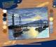 Sequin Art Набір для творчості PAINTING BY NUMBERS SENIOR Harbour at Sunrise