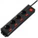 HAMA Мережевий фільтр з окремими вимикачами кожної розетки [00137257]