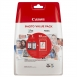 Canon PG-46 Black + CL-56 Color + фотопапір GP-501 50 л