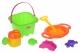Same Toy Набір для гри з піском Зелений (7 шт.)