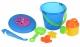 Same Toy Набір для гри з піском із Літаючою тарілкою (синє відерце) (8 шт.)