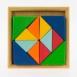 nic Конструктор дерев'яний - Різнокольоровий трикутник