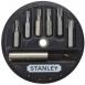 Stanley Біти в наборі 7 од. (T10, T15, T20, T25, T30, T40 + тримач) (блістер)