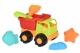 Same Toy Набір для гри з піском Вантажівка зелений (6 од.)