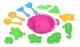 Same Toy Набір для гри з піском Рожевий (13 од.)