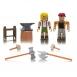 Roblox Ігрова колекційна фігурка Game Packs Forger's Workshop W6, набір 2 шт.
