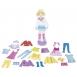 goki Магнітна гра - Наряди для ляльки