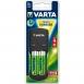 VARTA Pocket Charger + 4AA 2600 mAh NI-MH