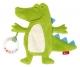 sigikid іграшка, що шарудить - Крокодил (20 см)