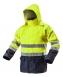 Neo Tools Робоча куртка підвищеної видимості, Oxford 300D, жовта [81-720-M]