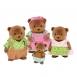 Li`l Woodzeez Набір фігурок - Сім'я Ведмедів