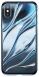 Baseus Water modelling для iPhone X [Transparent Blue (WIAPIPHX-SH03)]