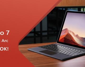 Акція на планшети Microsoft Surface PRO 7