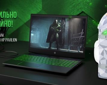 Акція по ноутбукам HP Pavilion Gaming