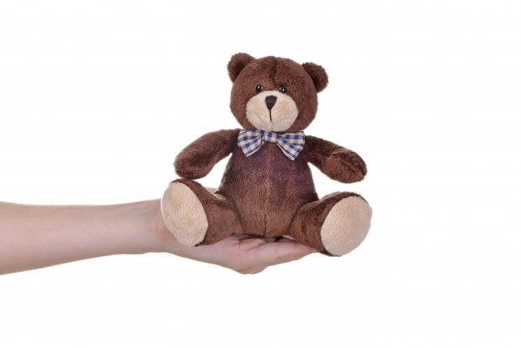 Same Toy Мишка коричневый (13 см)