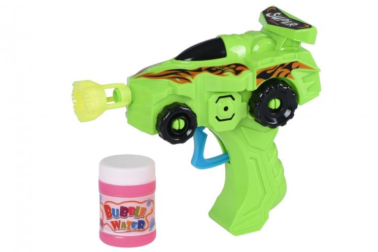 Same Toy Мыльные пузыри Bubble Gun Машинка (зеленый)