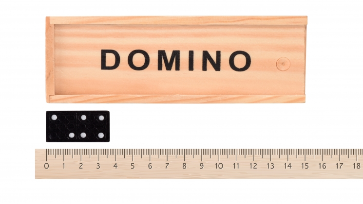 goki Домино в деревянной коробке