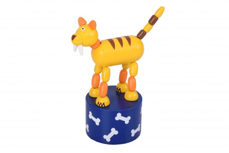 goki Игрушка нажми и тряси - Тигр