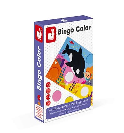 Janod Бинго. Изучение цвета
