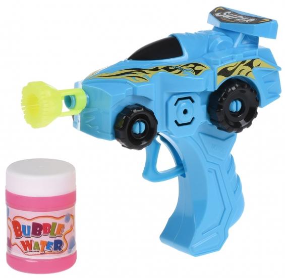 Same Toy Мыльные пузыри Bubble Gun Машинка (синий)