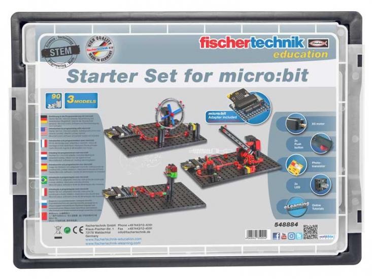 fischertechnik STEM Стартовый набор для micro:bit