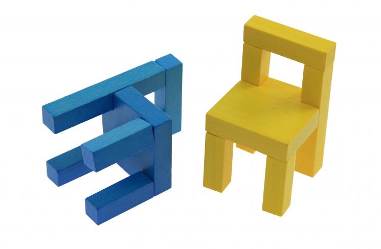 goki Развивающая игра Балансирующие стулья