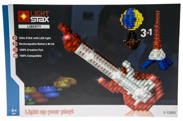 LIGHT STAX Конструктор с LED подсветкой Liberty LS-S12005