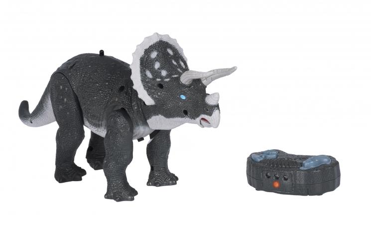 Same Toy Динозавр серый со светом и звуком (Трицератопс)