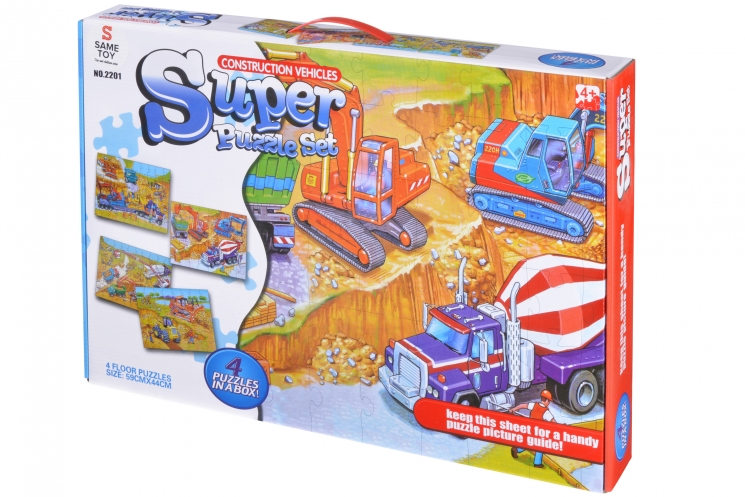 Same Toy Пазл Строительная техника