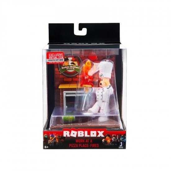 Roblox Игровая коллекционная фигурка Desktop Series Work At A Pizza Place: Fired W6