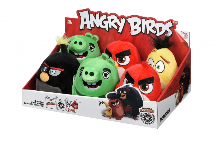 Angry Birds Мягкая игрушка ANB Little Plush Ред