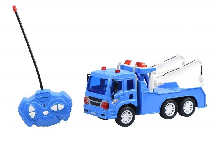 Same Toy Машинка на р/у CITY Полицейский эвакуатор
