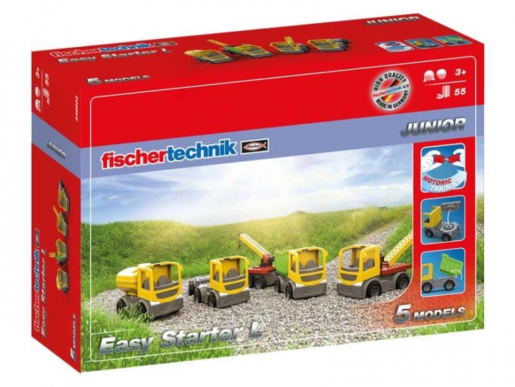 fischertechnik Конструктор JUNIOR Easy Starter L