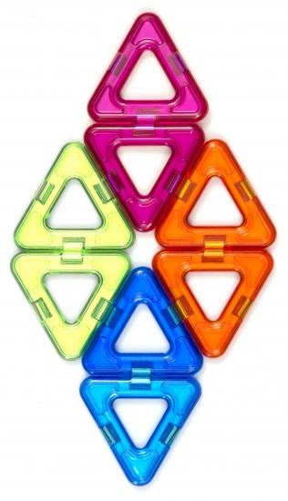 MagPlayer Конструктор магнитный - Дополнительный набор 8 ед. (MPC-8)
