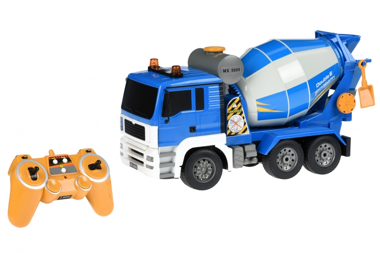 Same Toy Машинка на р/у Бетономешалка (синяя)