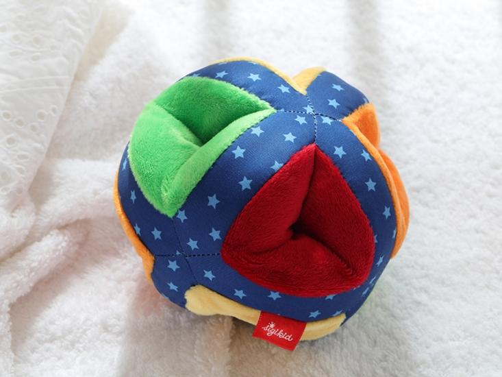 sigikid Разноцветный мяч (12 см)