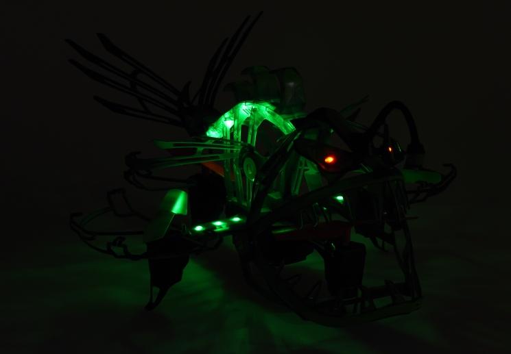 Drone Force Игрушечный дрон исследователь и защитник Angler Attack