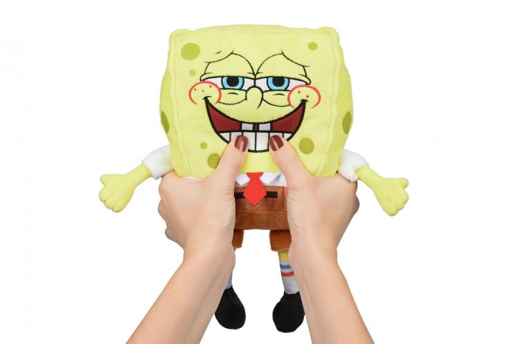 Sponge Bob Exsqueeze Me Plush SpongeBob Fart со звуком