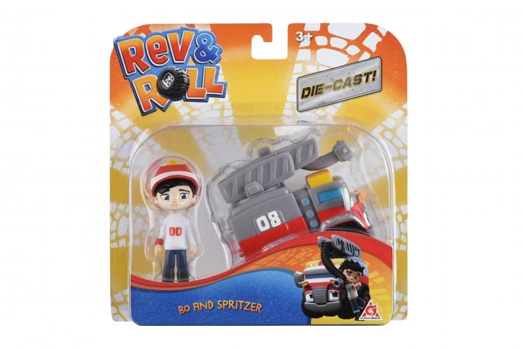 Rev&Roll Игровой набор DieCast - Bo & Spritzer
