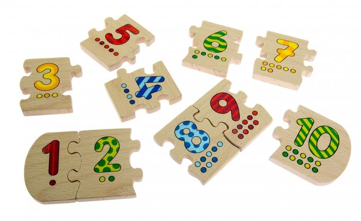 goki Развивающая игра Учимся считать