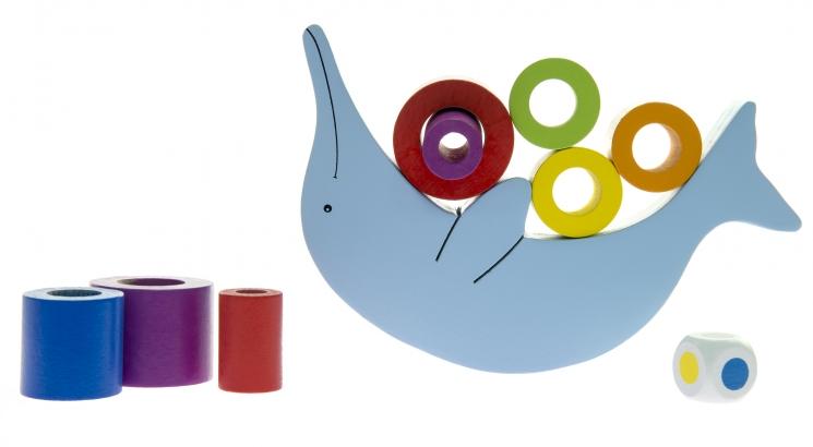goki Развивающая игра Балансируюий дельфин