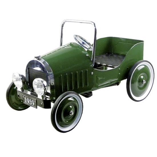 goki Педальная машинка Ретроавтомобиль 1939 (зеленый)