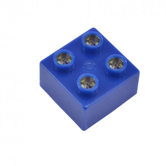 LIGHT STAX Элемент 2х2 Junior с LED подсветкой[Синий]