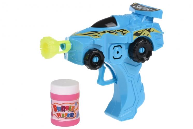 Same Toy Мыльные пузыри Bubble Gun Машинка (голубой)
