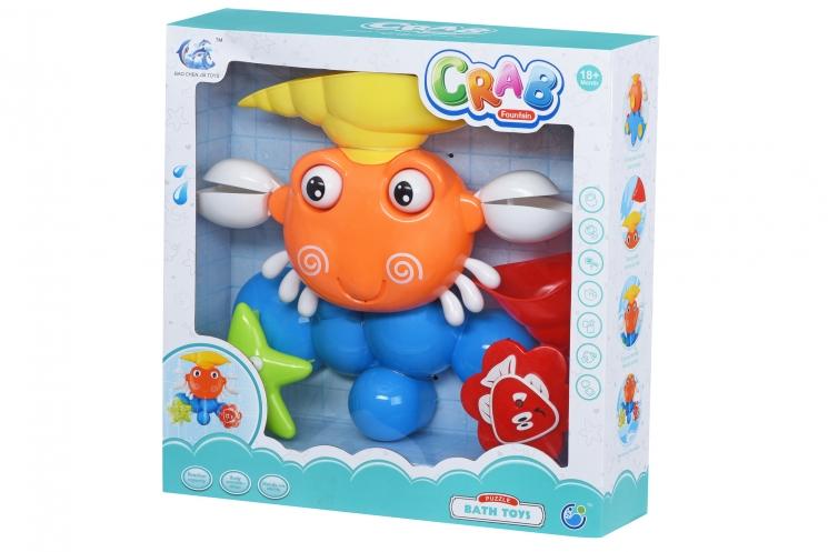 Same Toy Игрушки для ванной Puzzle Crab