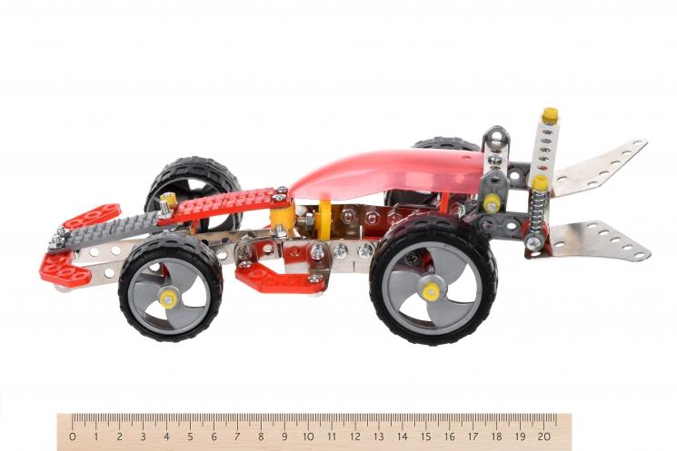 Same Toy Конструктор металлический - Болид (186 эл.)