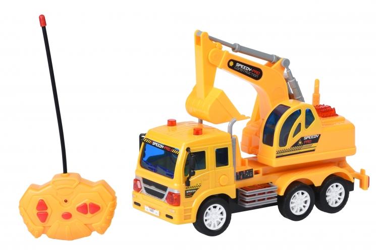 Same Toy Машинка на р/у CITY Грузовик с ковшом