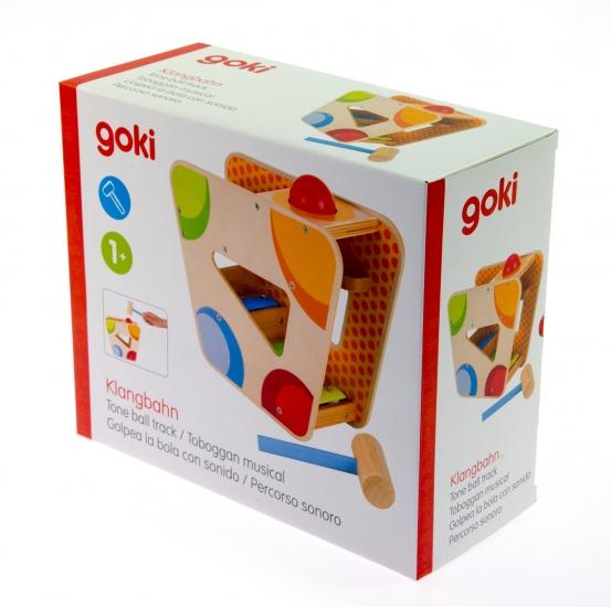 goki Сортер с молоточком Музыкальный шар