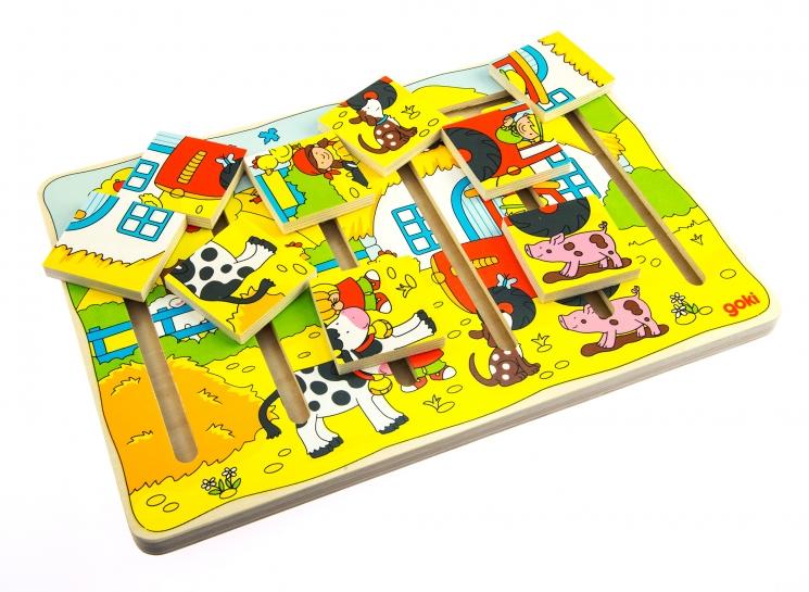 goki Развивающая игра Наша ферма